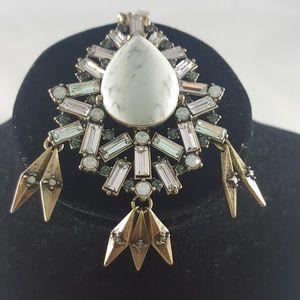 Aventine long pendant necklace
